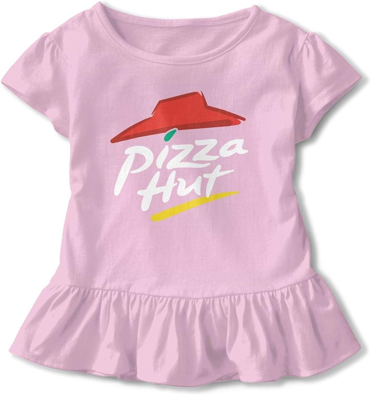 GUANGZHOUHONGYUAN Pizza Hut Girl Skirt Comfortable Short Sleeve Fashion Shirt