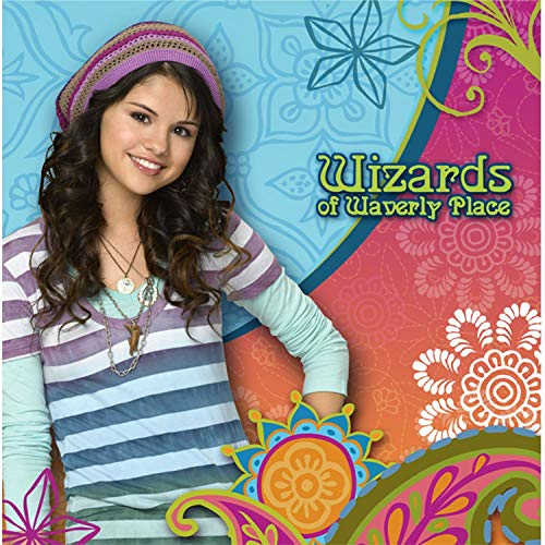 Wizards of Waverly Place 35cm x 35cm 14inch x 14inch Silk Print Poster 004- Fabric Cloth Wall Decor Home Decor