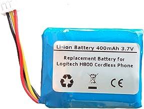 400mAh/3.7V Li-Polymer Replacement Battery for Logitech H800 Cordless Headset