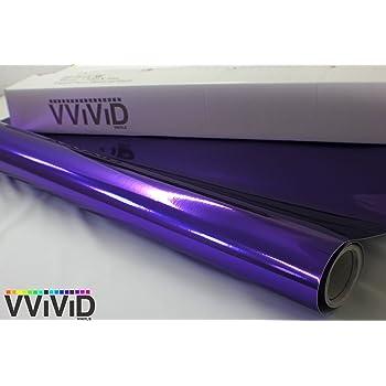 Gloss Galaxy Purple Premium Vinyl Wrap Film 1//2ft x 5ft VViViD