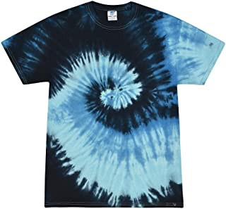 Tie Dye T-Shirt Kids 10-12 (MD) Blue Ocean