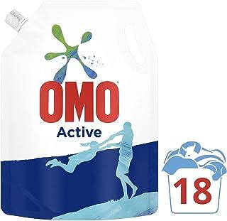 Omo Active Beyazlar Ve Renkliler İçin Pouch Sıvı Çamaşır Deterjanı, 1170 Ml, 18 Yıkama