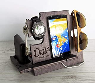 Father's Day Gift, Docking Station, Gift for Dad, Anniversary Gift, Gift for Husband, Gift for Him, Gift for Men, Personal...