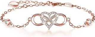 Best rose gold sterling silver bracelet Reviews