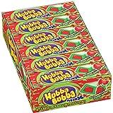Hubba Bubba Max Strawberry Watermelon Bubble Gum, 5 Piece (Pack of 18)