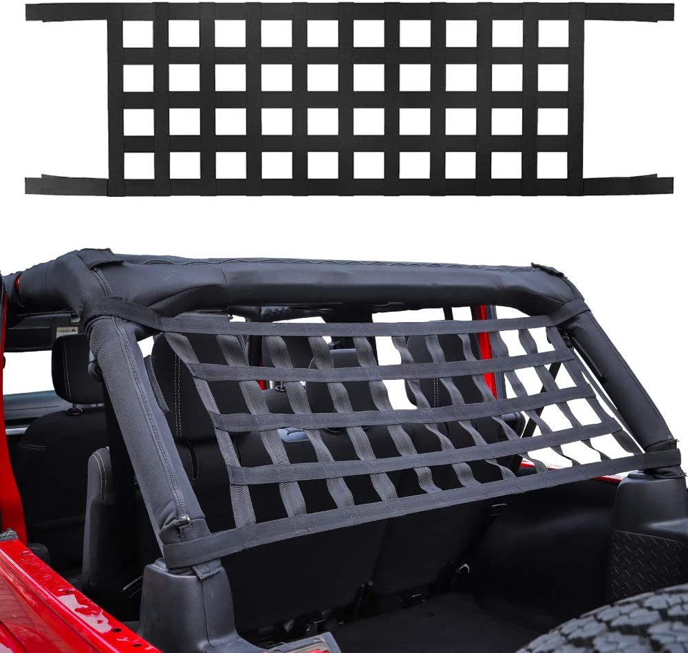 NEW before selling ☆ Savadicar Mesh Courier shipping free shipping Cargo Net Roof Hammock Top 1987-2021 Netting for