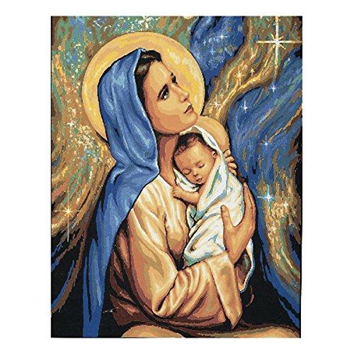 Anchor Royal Paris - Lienzo Impreso, diseño de Virgen y niño