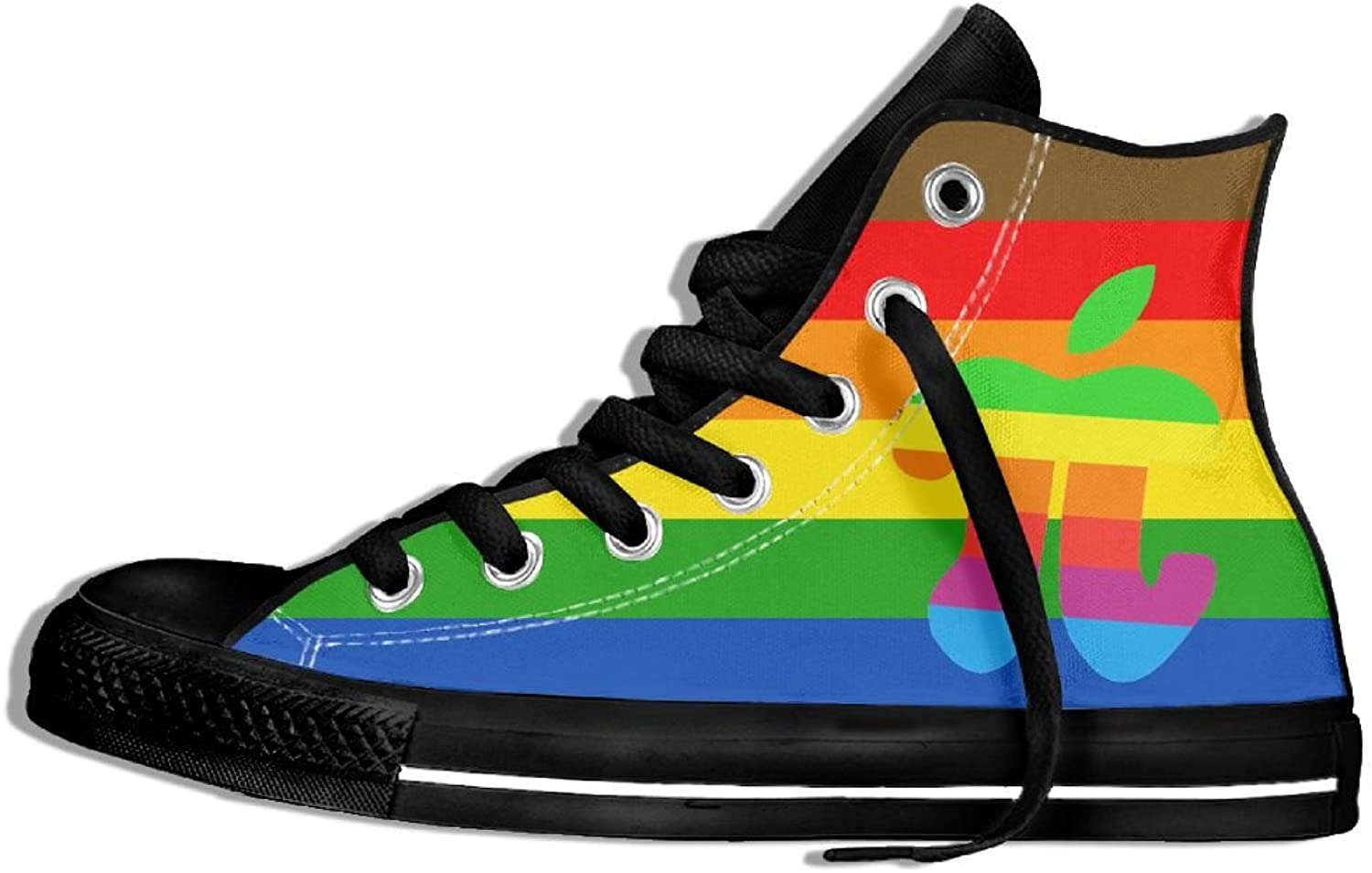Apple Pi - Pi High Top Classic Casual Canvas Fashion shoes Sneakers For Women & Men