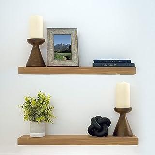 Magnificent Amazon Com 2X4 Wood Floating Shelves Home Decor Accents Download Free Architecture Designs Grimeyleaguecom