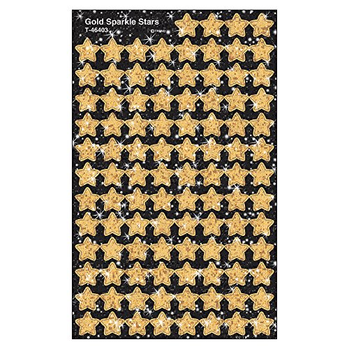 Trend superShapes Sticker, Gold 400 per Pack