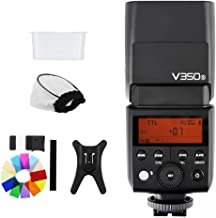 Godox V350S TTL HSS 1/8000s Speedlite Flash with Speed Return 0.1-0.7s Built-in 2000mAh Li-ion Battery Compatible for Sony Camera