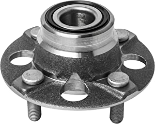 4 Lug W//ABS Rear Wheel Hub and Bearing Assembly Compatible With 1990-2001 Acura Integra 1992-1995 Honda Civic 1995-1997 Civic del Sol AUQDD 513105 Rear Brakes:Disc 4-Wheel ABS