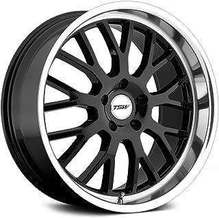 TSW Tremblant Gloss Black Wheel with Machined Lip (17