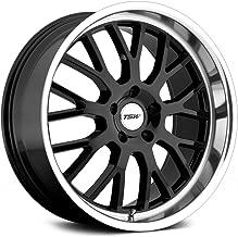 TSW Tremblant Gloss Black Wheel with Machined Lip (18