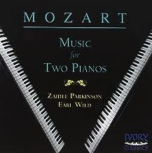 Mozart Music for 2 Pianos