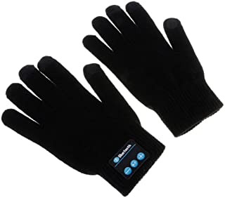 GZCRDZ Bluetooth Gloves, Wireless Bluetooth Gloves, Winter Gloves with Hands Call Talking & Music & Touch Screen Knit Warm...