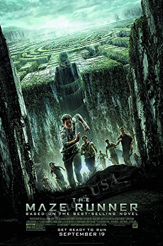 """Posters USA - Maze Runner Movie Poster GLOSSY FINISH - MOV417 (24"""" x 36"""" (61cm x 91.5cm))"""