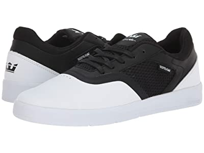 Supra Saint (White/Black/White) Men