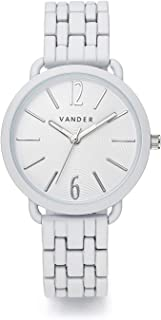 VANDER Womens Watches Fashion Simple Minimalist Waterproof Quartz Analog Watch Designer Luxury Business Classic Dress Wrist Watch White Black