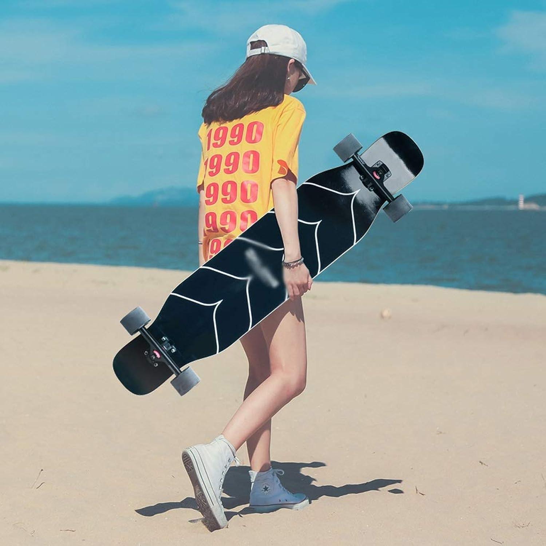 KYCD Skateboard Longboard Allrad Skateboard Anfänger Jungen und Mädchen Pinsel Street Dance Board Teenager Professioneller Roller (Farbe   C) B07Q1YFGFR  Räumungsverkauf
