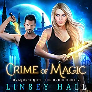Crime of Magic     Dragon's Gift: The Druid, Book 2              Written by:                                                                                                                                 Linsey Hall                               Narrated by:                                                                                                                                 Laurel Schroeder                      Length: 6 hrs and 4 mins     Not rated yet     Overall 0.0