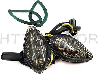 SMT- Smoke Led Flush Mount Turn Signal Compatible With Honda Cbr 919 600 F3/F4/F4I 600Rr 1000Rr [B00V2ZQ78Q]