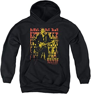 Elvis Presley Comeback Spotlight Unisex Youth Pull-Over Hoodie for Boys and Girls