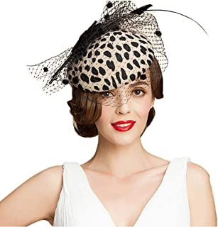 Best leopard print fascinator Reviews