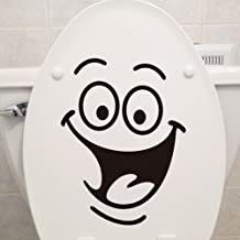 Creative DIY Home Decor Stickers Smile bathroom toilet stickers decorative wall stickers