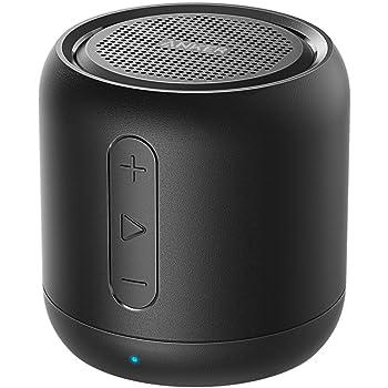 Anker Soundcore mini (コンパクト Bluetoothスピーカー)【15時間連続再生 / 内蔵マイク搭載/microSDカード & FMラジオ対応】(ブラック)