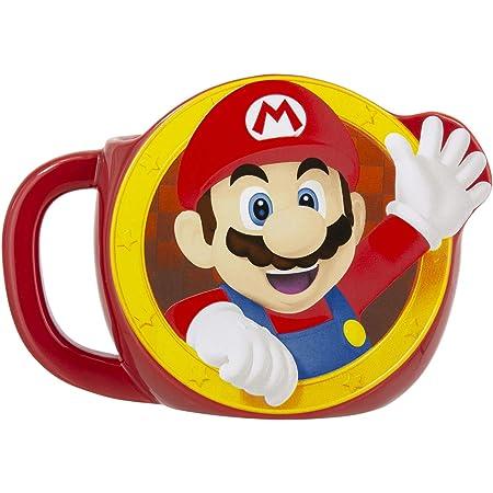 Super Mario Mug, Oversized Ceramic Coffee Mug 600 ml, Officially Licensed Nintendo Merchandise