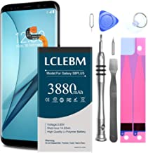 Galaxy S8 Plus Battery Replacement Kit, LCLEBM 3880mAh Li-Polymer EB-BG955ABE Replacement Battery for Samsung Galaxy S8 Plus G955 G955V G955A G955T G955P with Complete Tool Kits -24 Month Warranty