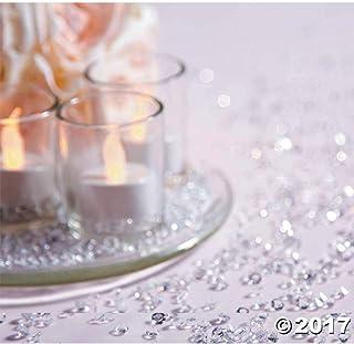 ダイヤモンドテーブル紙吹雪 – パーティ、誕生日、花瓶、結婚式、年越し用の華やかな追加品