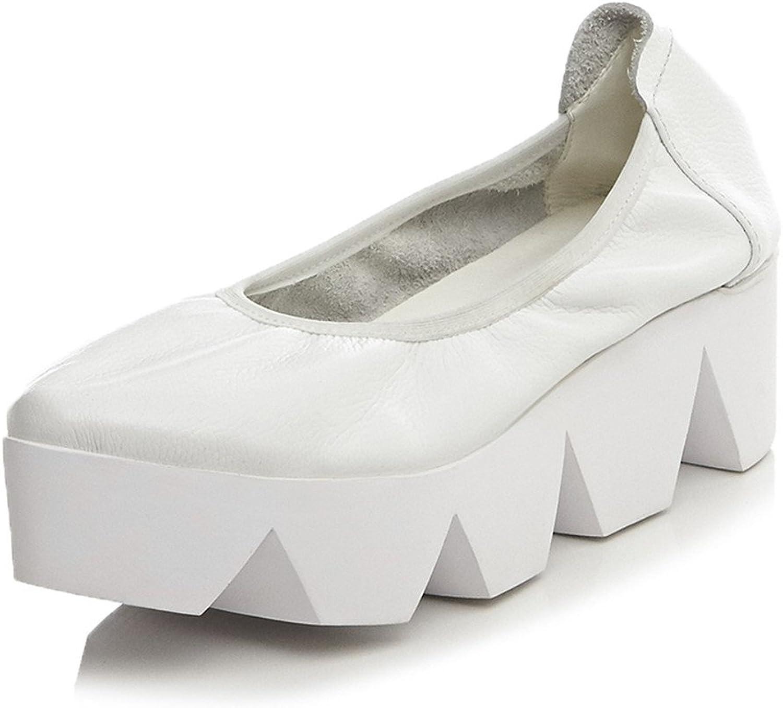 MINIVOG Women's Casual Treaded Sole Loafers