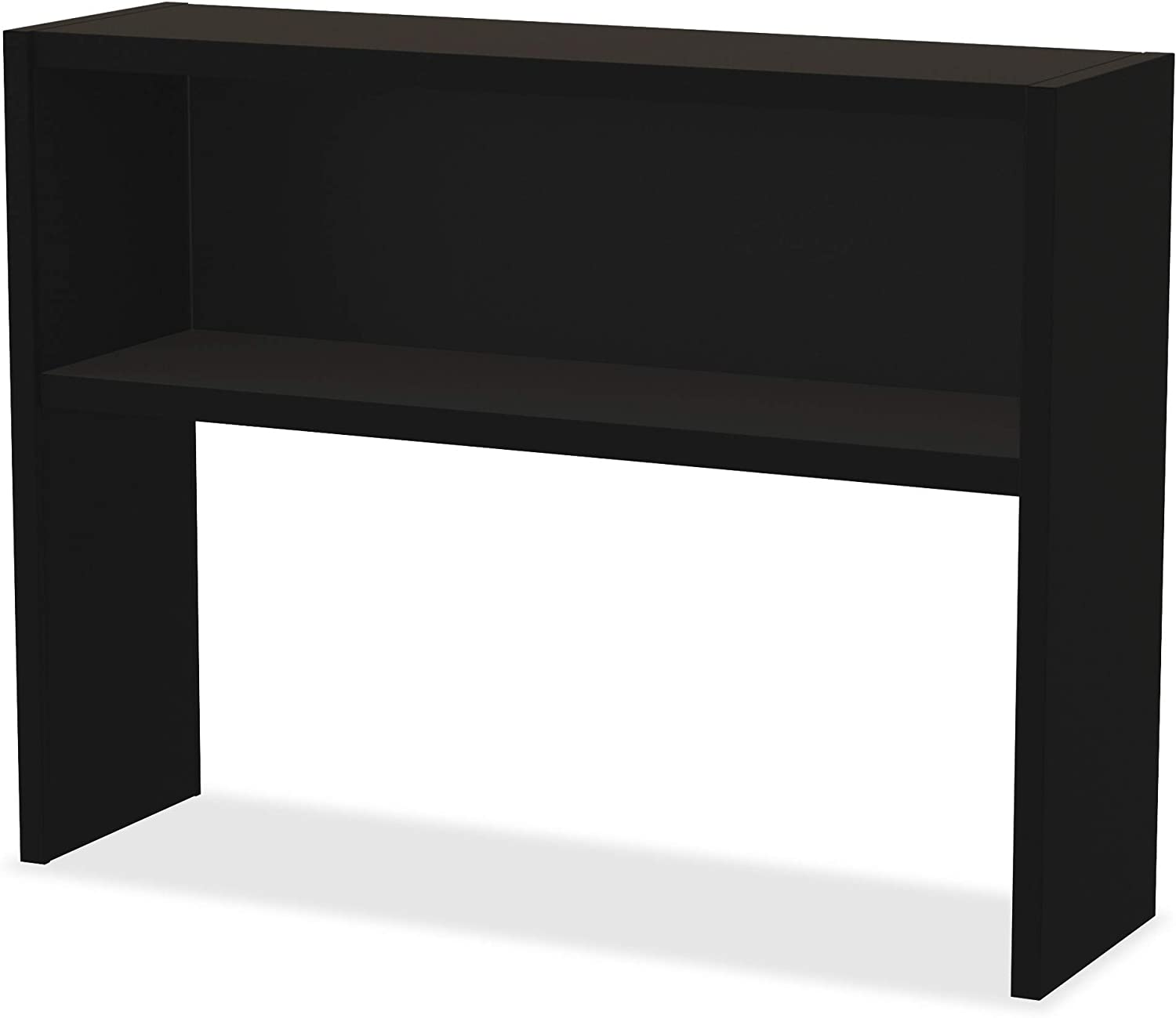 Lorell Modular Desk Series Detroit Mall Stack Hutch Spring new work one after another Black