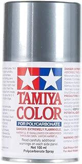 Tamiya America, Inc Polycarbonate PS-63 Bright Gun Metal, Spray 100 ml, TAM86063