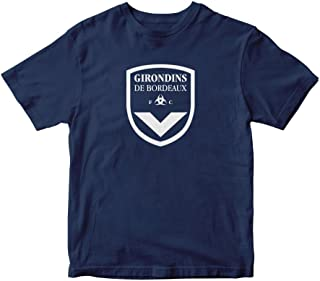 FC Girondins De Bordeaux Shirt France Soccer Football Navy