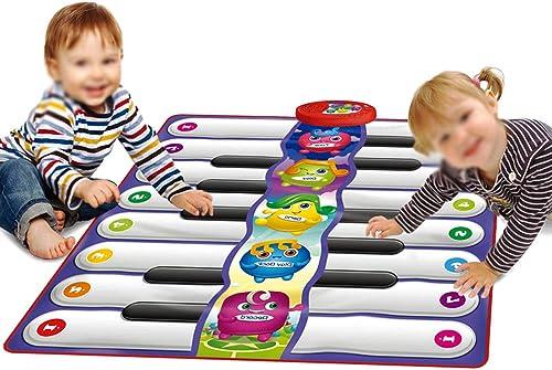Baby Viele Leute berühren Fu statur Musikspieldecke Weißeit entwickeln   trainieren