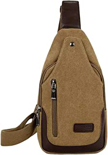 Sling Men Bag Crossbody Shoulder Anti Theft Women Backpack,Lightweight Small Bag