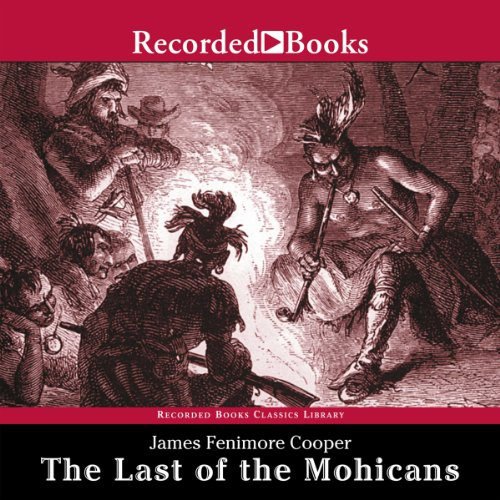 The Last of the Mohicans audiobook cover art