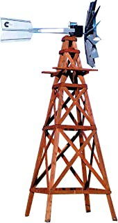 Outdoor Water Solutions WTW0182 Wood Windmill Kit