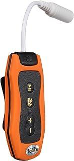JVSISM 8GB MP3 Player Swimming Underwater Diving Spa + FM Radio Waterproof Headphones Orange