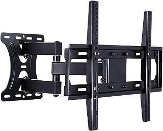 HIZLJJ TV rack universal wall bracket LCD TV stand telescopic rotation