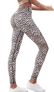 Vepodrau Le Donne Leopardo Leggings Atletico Fitness Elestic Vita - Pantaloni Da Yoga