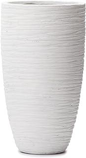 植木鉢 大型 ファイバークレイプロ サン・トール リッジ 66 ホワイト
