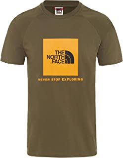 The North Face Men's Raglan Redbox T-Shirt, Green
