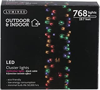 Kaemingk 768 LED Lights - Multi - Cluster Lights - Multi Function