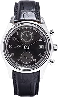 IWC Portuguese Chronograph Classic Automatic Stainless Steel Mens Watch IW390404