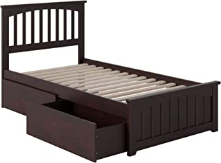 Best atlantic furniture mission storage slat bed Reviews