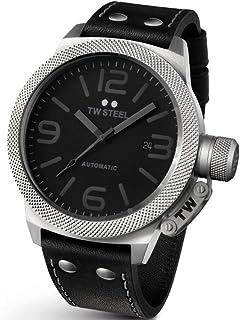 TW Steel Watch for Men, Leather, TWA200
